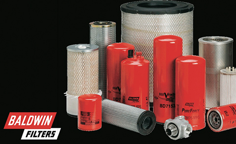 Baldwin Filters available in Alberta at Red-L Distributors