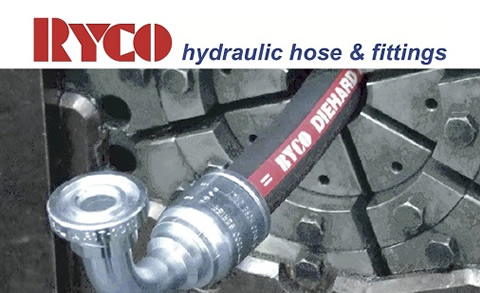 RYCO hydraulic hoses and fittings available at Red-L Distributors Alberta