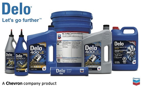 Delo Chevron oil available at Red-L Distributors Alberta